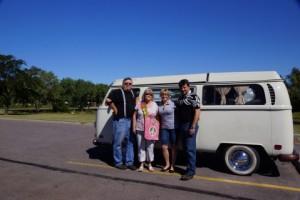 Dave, Sherrill, me, Matt with Dorothy
