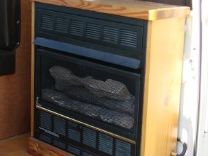 Westy fireplace!