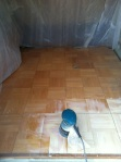 Floor before I refinished